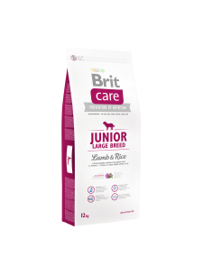 Brit Care Junior, Large Breed, Miel si Orez, 12 kg, Livrare Gratuita in Bucuresti