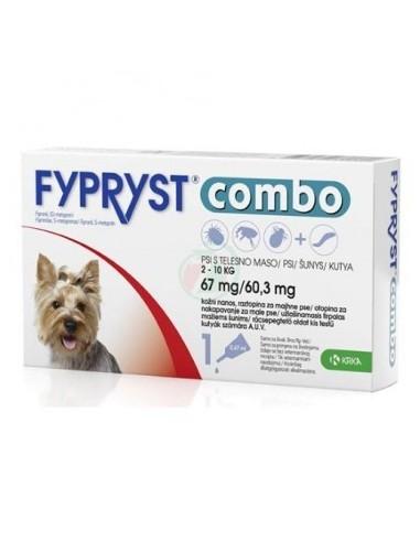 Fypryst Combo Dog S 2-10 kg