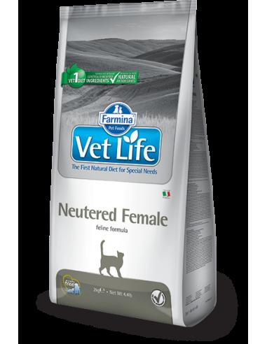 Vet Life Neutered Female Pisica, 2 kg